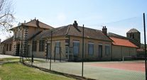 Larreule, court de tennis